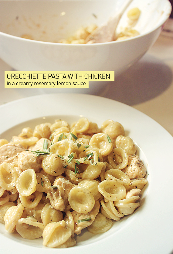 Chicken Pasta With Thyme-Mint Cream Sauce Recipes — Dishmaps