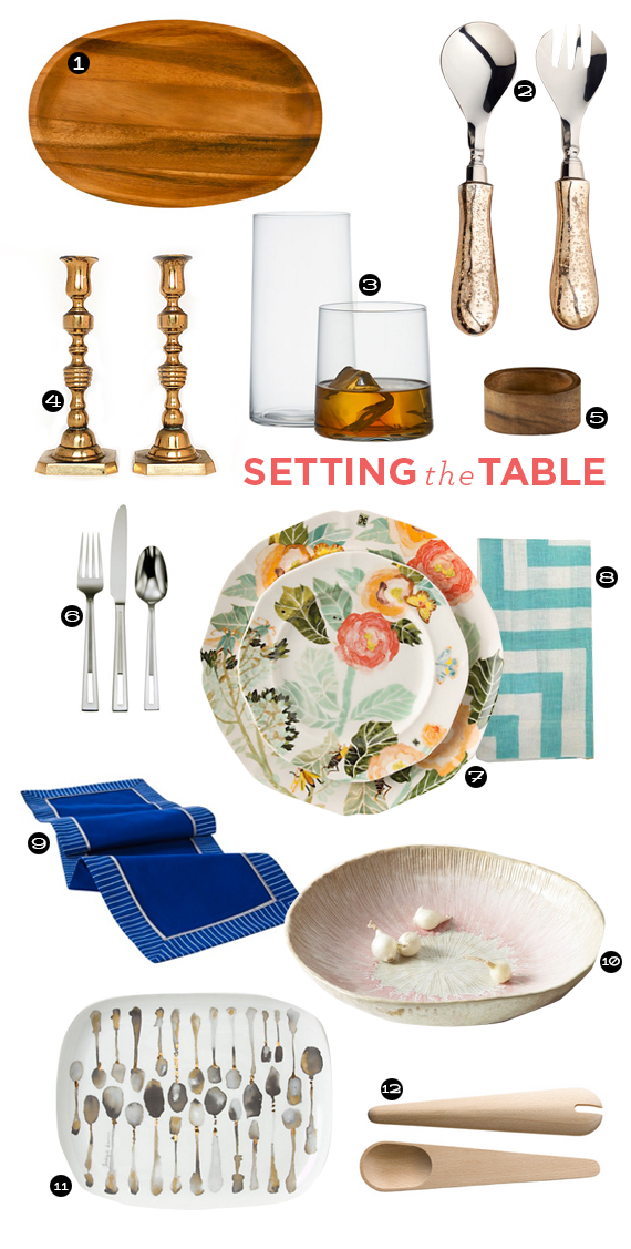 thanksgiving table roundup