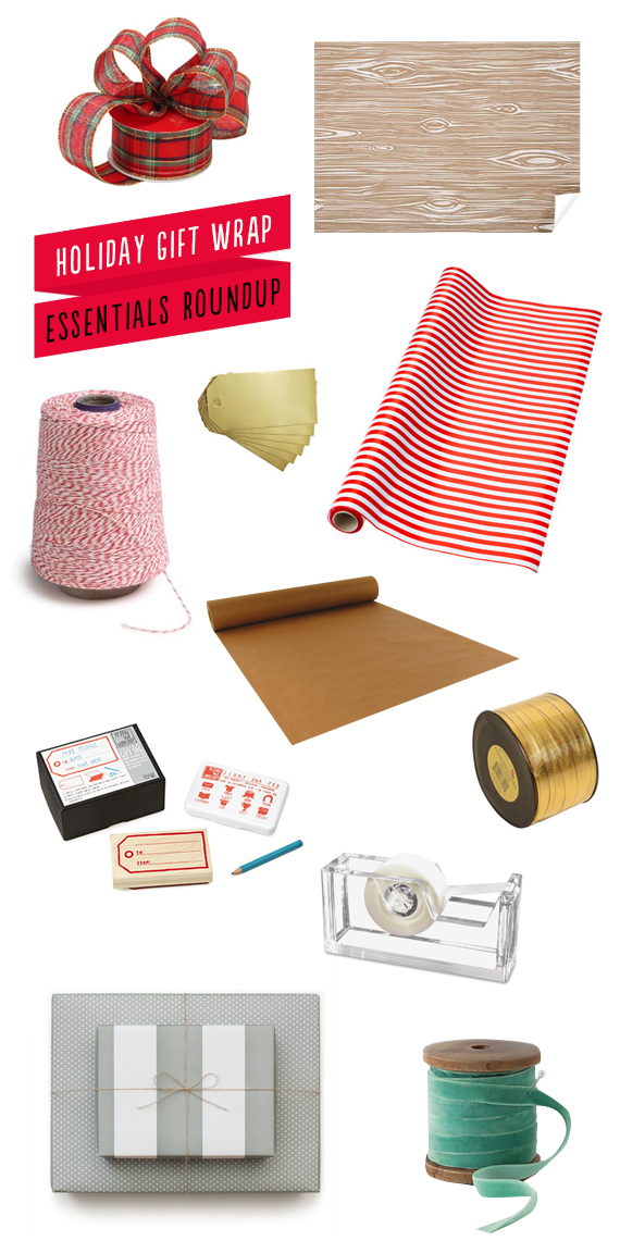 holiday gift wrap roundup