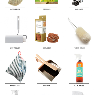 cleaning supplies roundup