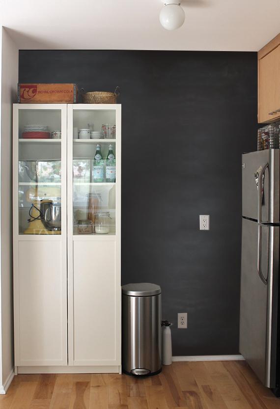 kitchen wall chalkboard