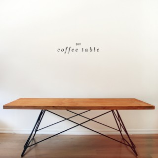 diy coffee table - almost makes perfect