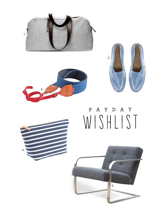 payday wishlist