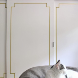 decorative washi tape doors