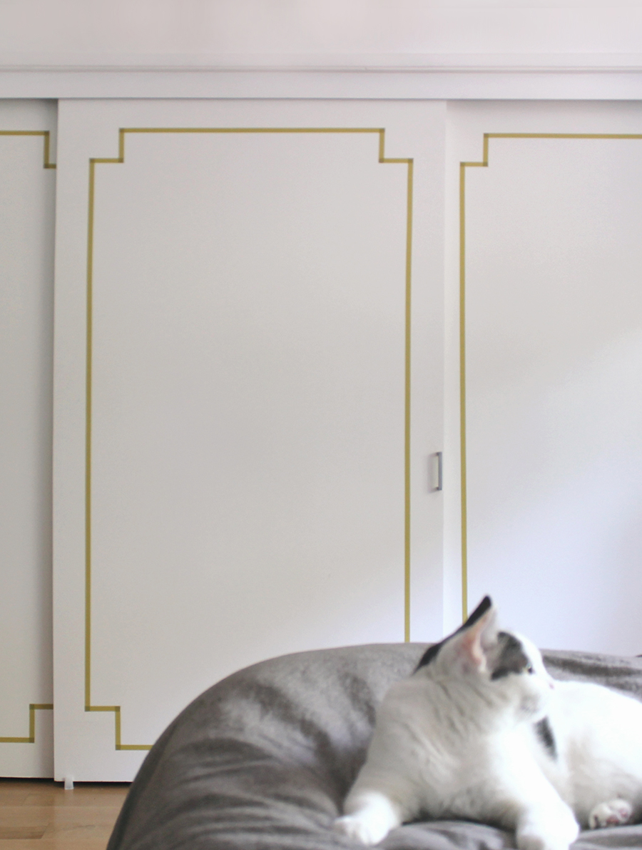 Washi Tape Kitchen Cabinets Diy Washi Taped Decorative Doors Almost Makes Perfect