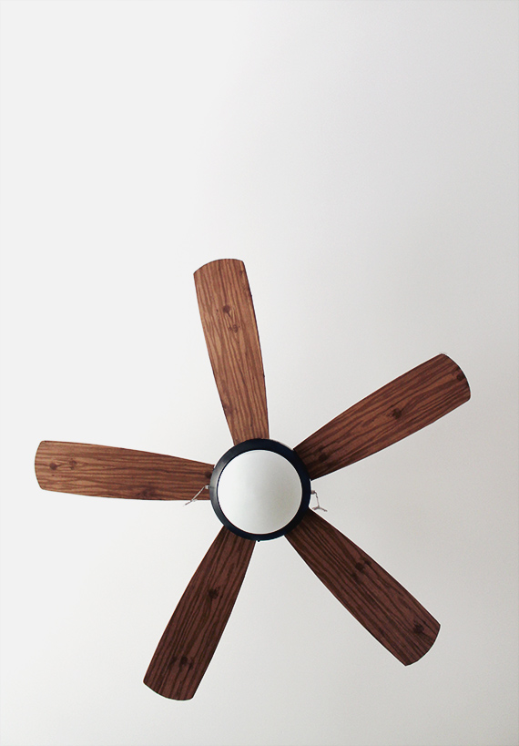 Paper Ceiling Fan : Diy schoolhouse ceiling fan almost makes perfect
