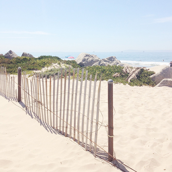 santa clause beach - carpinteria
