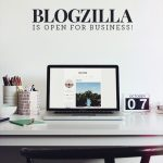blogzilla launch + free fonts