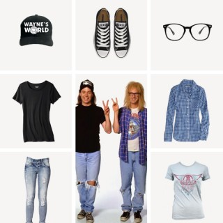 waynes world costumes / almost makes perfect