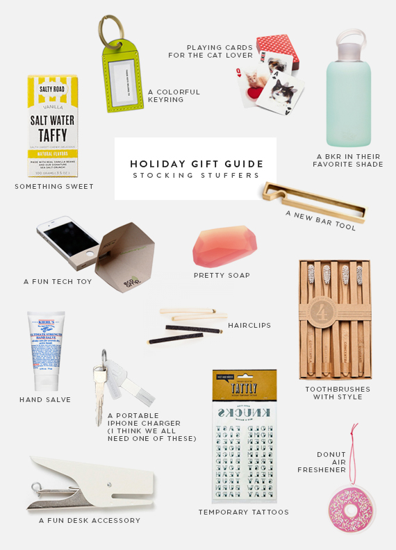 holiday gift guide 2013 - stocking stuffers
