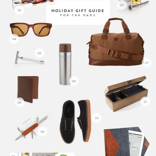 holiday gift guide -- for the dads