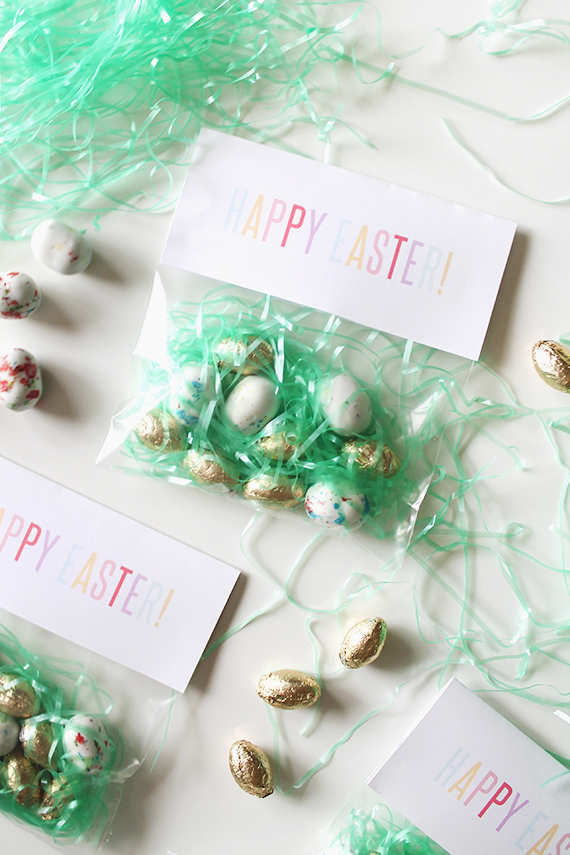 diy printable easter bags  | almost makes perfect