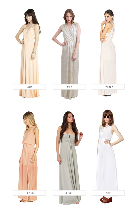 wedding stuff : bridesmaids dresses under $100