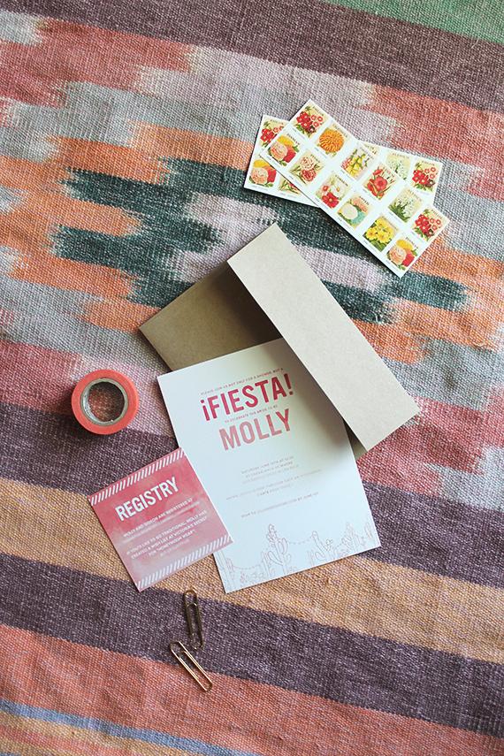 fiesta shower invites | almost makes perfect
