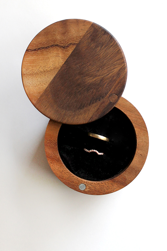 diy wood ring box