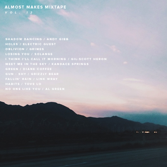 almost makes mixtape | vol 12
