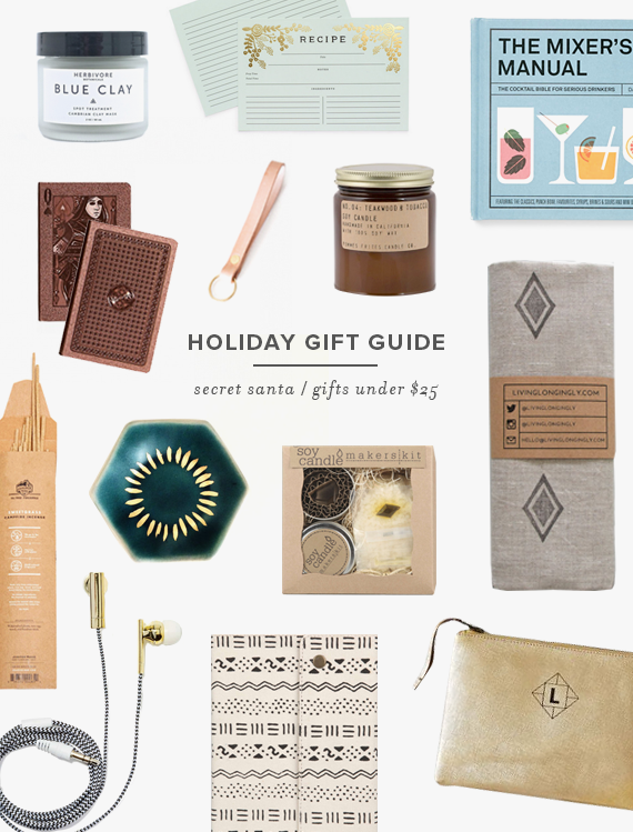 Delicieux Holiday Gift Guide | Gifts Under $25