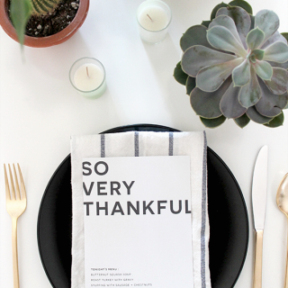 printable thanksgiving menu | almost makes perfect