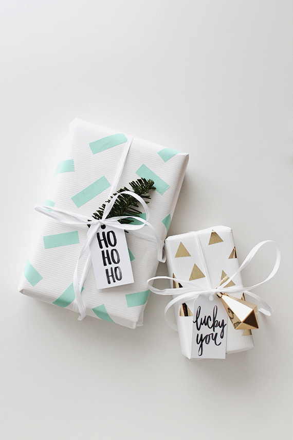 Diy Washi Tape Gift Wrapping Almost Makes Perfect