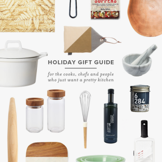 holiday gift guide | for the cooks