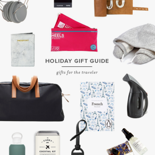holiday gift guide | for the travelers