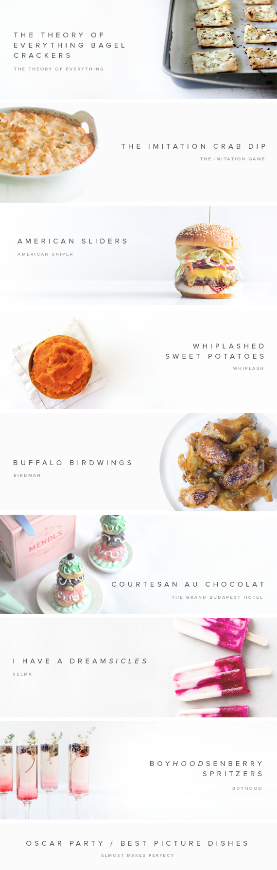 oscar party themed dishes | almost makes perfect