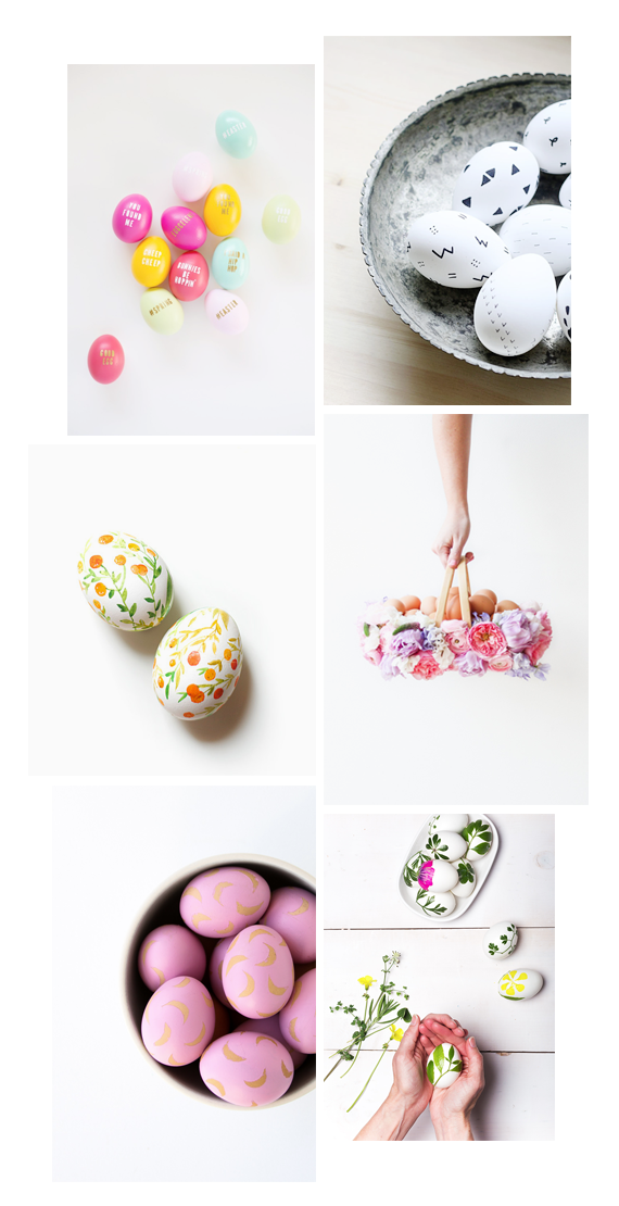 6 easter egg DIYS to do | almost makes perfect