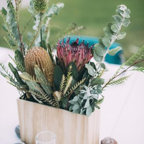 how we did our own wedding florals