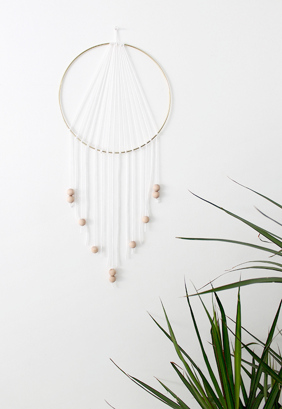Diy modern dreamcatcher almost makes perfect for How to make dreamcatcher designs
