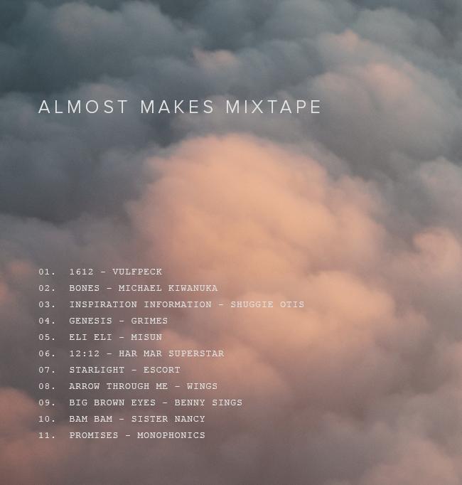 almost makes mixtape | vol 19