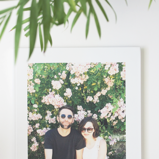our first year of marriage photo book | almost makes perfect