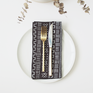 diy mudcloth napkins | almost makes perfect