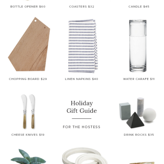 gift guide for the hostess | almost makes perfect