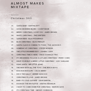 almost makes mixtape | xmas 2015