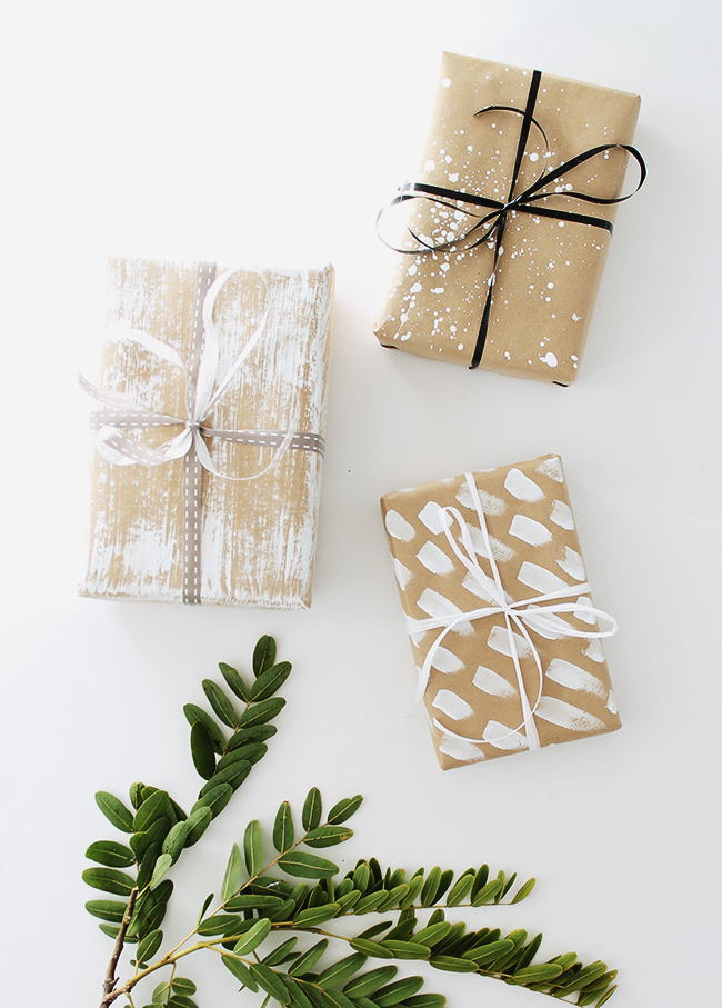 four DIY gift wrap ideas - almost makes perfect