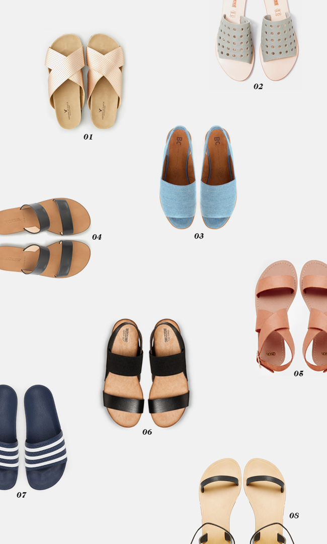 8 sandals for spring | almost makes perfect