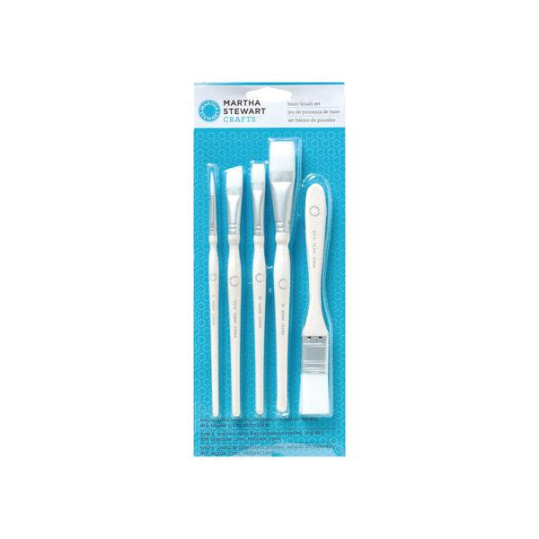 basic craft brush set