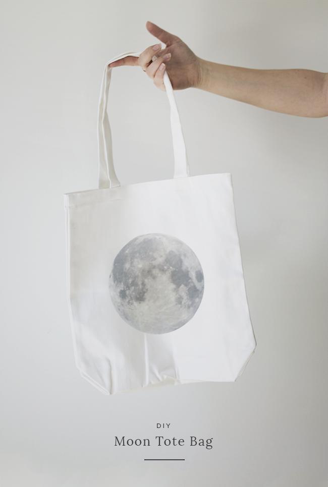 DIY moon tote @mollymadfis