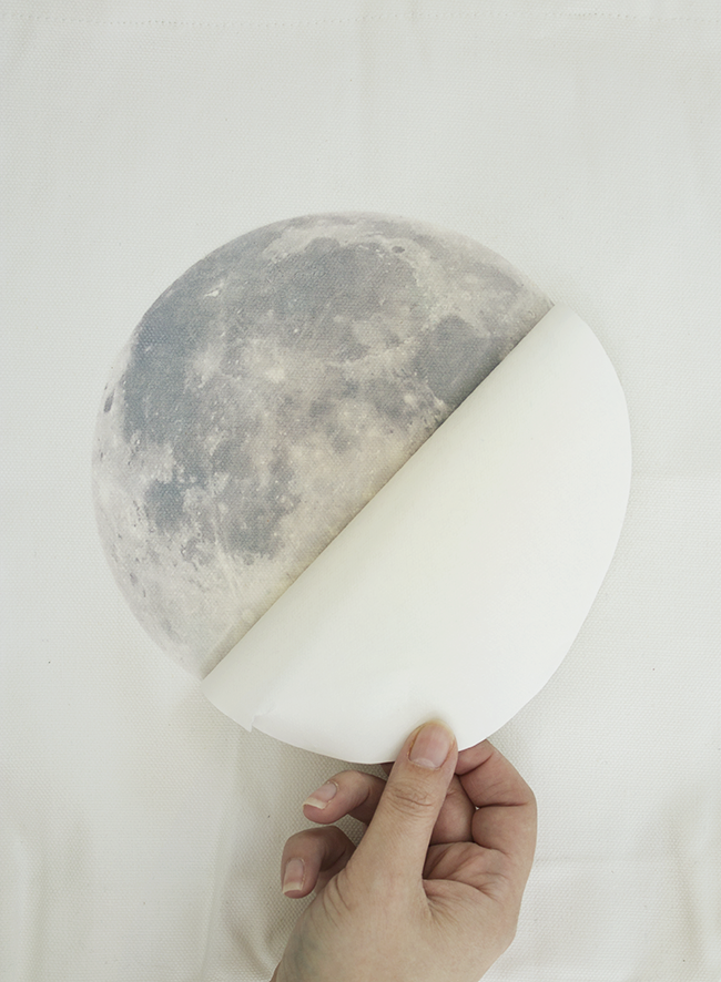 DIY moon tote bag | almost makes perfect