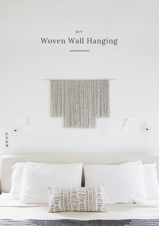 Diy woven wall hanging almost makes perfect for Wall hanging images