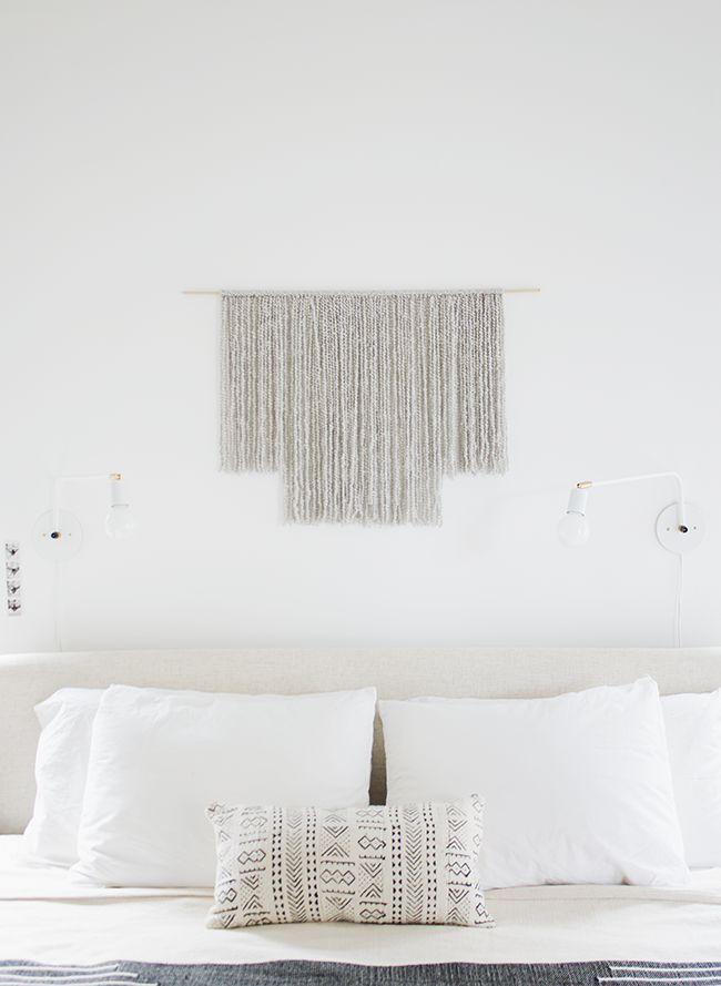 DIY woven wall hanging   almost makes perfect @mollymadfis