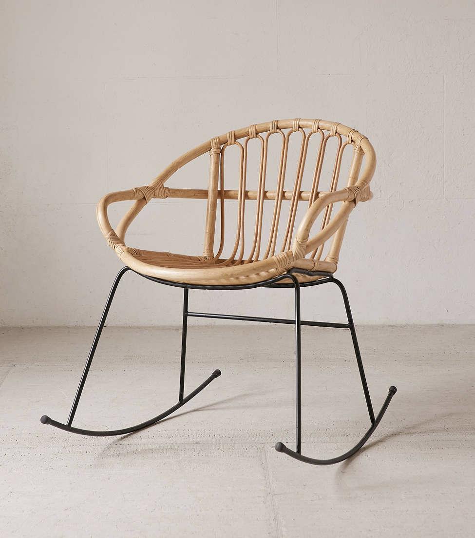 rattan rocker almost makes perfect. Black Bedroom Furniture Sets. Home Design Ideas