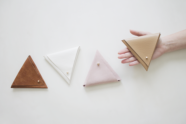 DIY triangle pouches | almost makes perfect