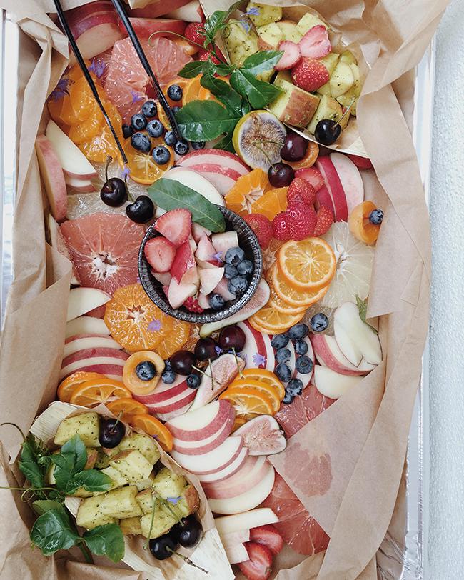 fruit salad @mollymadfis