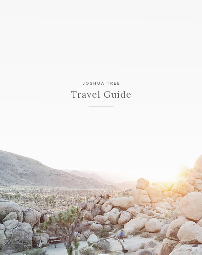 joshua tree guide | almost makes perfect