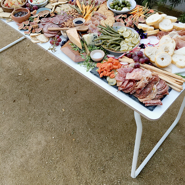 charcuterie party   almost makes perfect