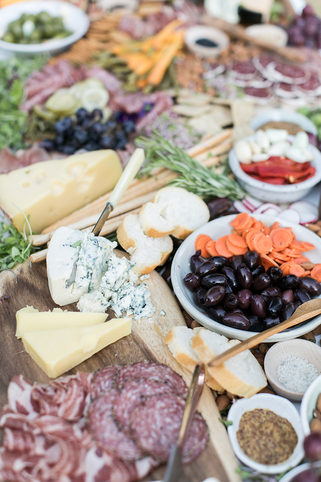 how to setup an epic charcuterie table | almost makes perfect