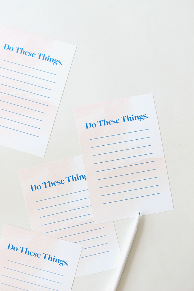 Printable To-Do List - Almost Makes Perfect