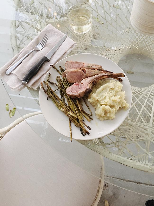 lamb al fresco