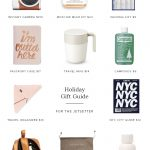 holiday gift guide : for the jetsetter